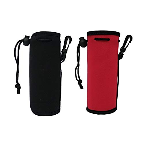 Water Bottle Breathable Carrier Warm Heat Insulated Cover Bag Holder Drink Bag Q