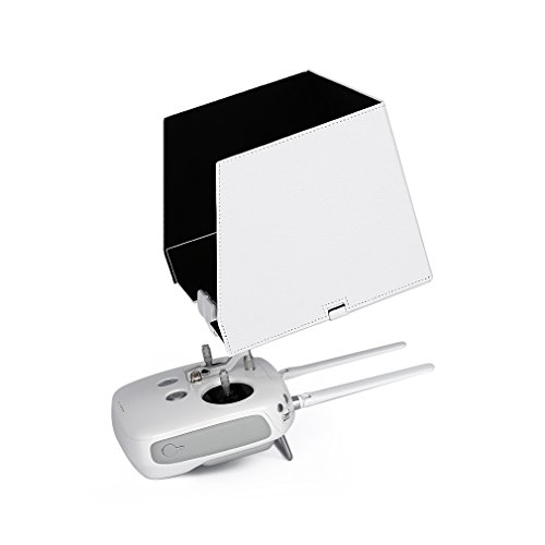 Fits iPad Air 2, iPad Air, 9.7'' Tablet FPV Monitor Sunshade Sun Hood for DJI Phantom 3 Transmitter Remote Controller Quick Release iPad Holder Clip Mount by cjc