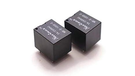 10PCS Mini 5V Dc Songle Power Relay SRD-5VDC-SL-C Pcb Type ow