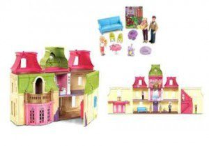 Fisher Price Loving Family Dream Mega Set Dollhouse W Dolls Furniture Buy Online In Uae