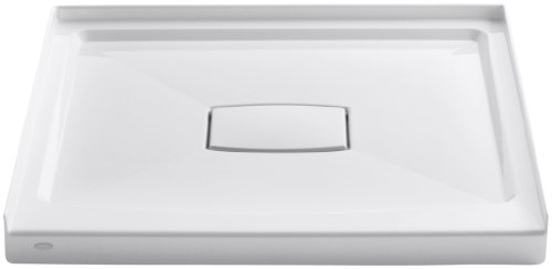 Kohler Pans Shower (KOHLER K-9396-0 Archer FRP Shower Receptor with Removable Cover, 36-Inch by 36-Inch, White)