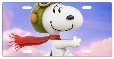 Charlie Brown Snoopy Vanity License Plate