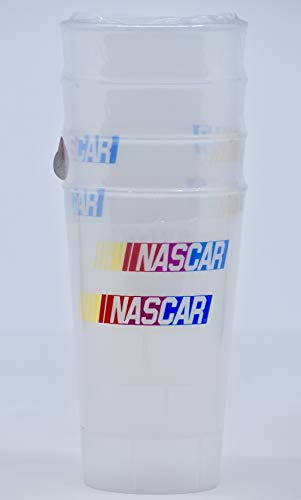 - Whirley Drink Works - NASCAR Plastic Tumblers - Set of 4 - BPA Free - New - Collectible