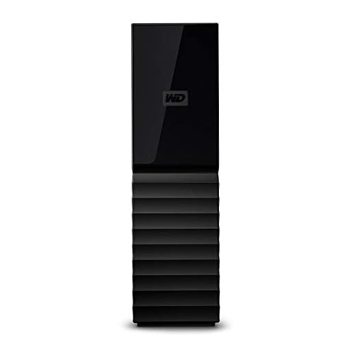 WD 8 TB My Book USB 3.0 Desktop Hard Drive with Password Protection and Auto Backup Software