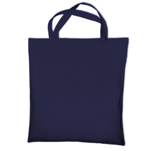 Tote Short Bag Handle Bags Blue Shopping Cotton Jassz Cedar Dark Pnwxfq1Cg