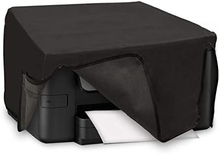 kwmobile Funda para Epson Workforce Pro WF-3725DWF / 4725DWF - Cubierta Protectora Antipolvo de Impresora - Forro Protector Gris Oscuro