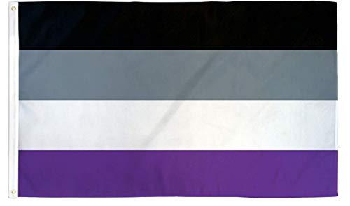 Asexual Pride 3' x 5' Flag LGBTQ Pride Flag Single Sided Wall Decoration Flag Ace Flag
