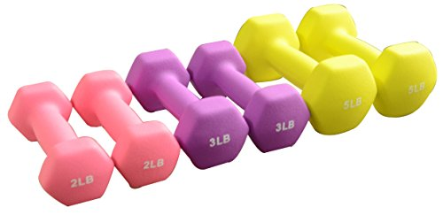 BalanceFrom BF D358 Dumbbell Set with Stand