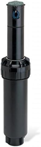 Orbit 5 Pack 4 Inch Half Spray Pattern Pop-Up Sprinkler Head with Twin-Spray Brass Nozzle