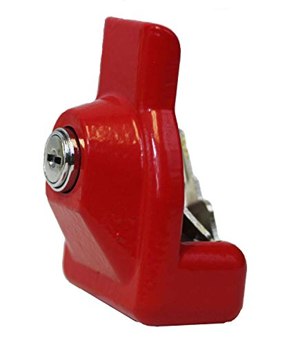 Mytee Products Heavy Duty Aluminum Air Brake Glad Hand Lock for Tractor Trailer (1 - Pack)
