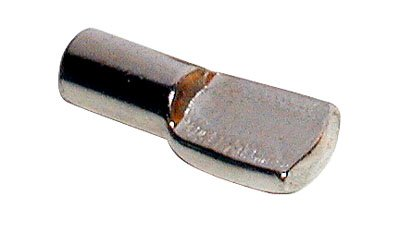 Pioneer 0947007-20 5mm Nickel Shelf Pin (Bag of 20) Handy Button
