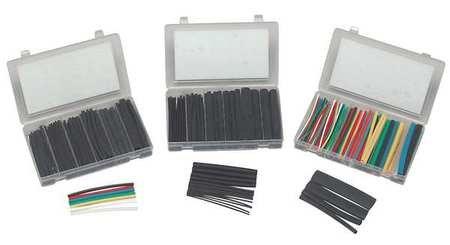 - Panduit KP-HSTT2 Heat Shrink Kit Box - Plastic Case, Various Sizes, Various Colors