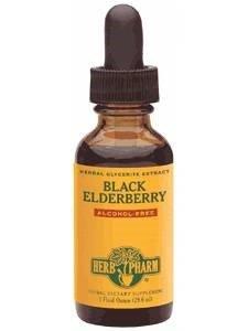 Herb Pharm - Black Elderberry Alcohol-Free 8 oz [Health and Beauty]
