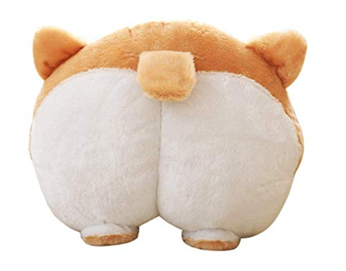 VEEKI Corgi Butt Pillow, Cute Animal Appearance, Can Be Used As Cushion Pillow Toy Sofa Pillow and Many Other Purposes, Birthday Gift