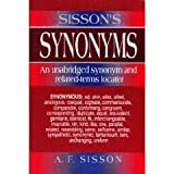 Sisson's Synonyms : Borders Press Edition, A.F. Sisson, 0130956813