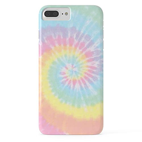 Roses Garden Phone Case Protectivedesign Cell Case Pastel Tie Dye Slim Case for iPhone 7 Plus (Tye Dye Phone Case)
