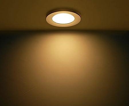 Warm White Downlight Kit Black Shell Dream Lighting LED Recessed Lighting Fixture 2W LED Ceiling Light