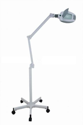 LED Magnifying Lamp and Stand - 3 diopter 6 inch diameter lens by SilverFox (Image #3)