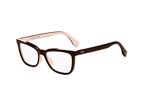 FENDI Eyeglasses 0122 0MG1 Black Pink 53MM ()