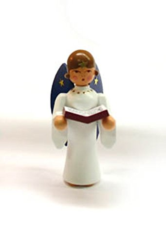 Miniatures angels with book approx. 6cm Christmas figure Table decoration angel miner