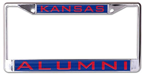 Wincraft NCAA University of Kansas Alumni Premium License Plate Frame