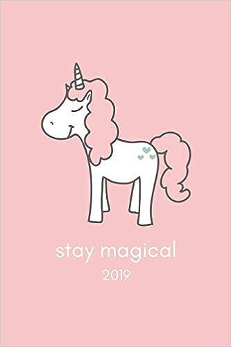 Amazon.com: Stay Magical 2019: Pretty Pink Unicorn Week To ...