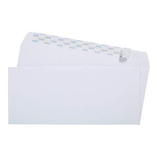 Staples 394053 Easyclose #10 Envelopes 100/Box