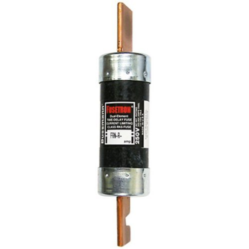 Bussmann BP/FRN-R-100 100 Amp Fusetron Dual Element Time-Delay Current Limiting Class RK5 Fuse, 250V Carded UL Listed (Delay Fuse Time Tron)