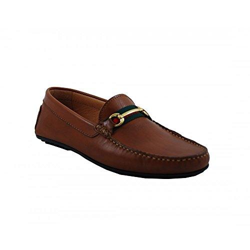 Benavente Men's Loafer Flats Camel S7G9oc2PM