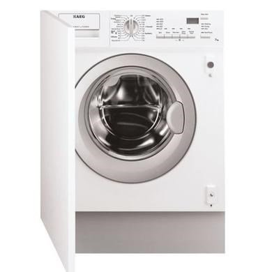 AEG L61271WDBI 7kg Wash 4kg Dry 1200rpm Integrated Washer Dryer - White