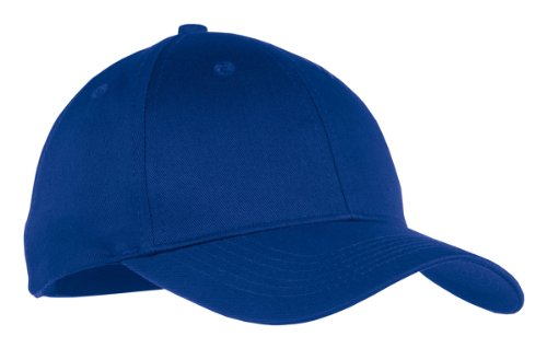 Port & Company Boys' Six Panel Twill Cap OSFA Royal