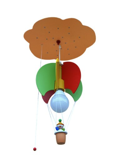 Elobra Pendelleuchte Ballonwolke mit Kasper 1/20 ELO-125512
