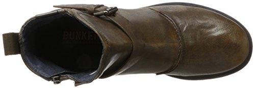 BUNKER Herren Klassische Stiefel Grün (KAKY)