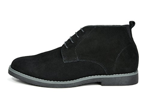 BRUNO MARC NEW YORK Men's Classic Original Suede Leather Desert Storm Chukka Boots