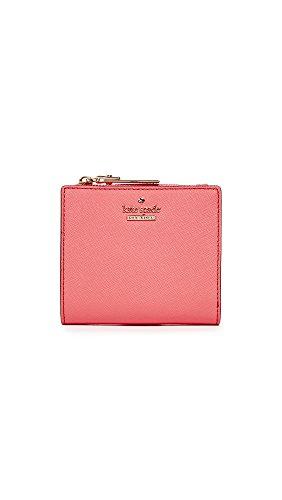 Kate Spade New York Women's Cameron Street Adalyn Mini Wallet, Bright Flamingo, One - Flamingo Kate Spade