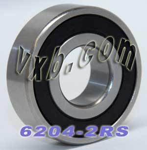 6204-2RS Sealed Bearing 20x47x14 Ball Bearings