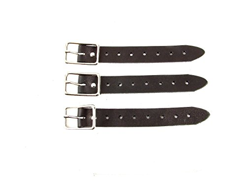 Kilt Extender Buckle Straps for Tight Fitting Kilts 1 1/4 inch, 1 inch and 3/4 inch ()
