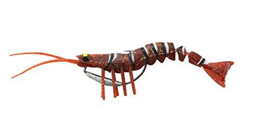 (Savage Gear TPE Manic 3D Shrimp Sinking Fishing Lure 4