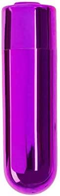 Pure Love Mini Bullet Vibrator, Rechargeable, Travel Size, Adult Sex Toy, Purple Color