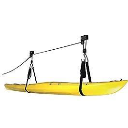 Cartman Palan à kayak pour garage, canoë, capacité de travail de 45,4 kg par Cartman