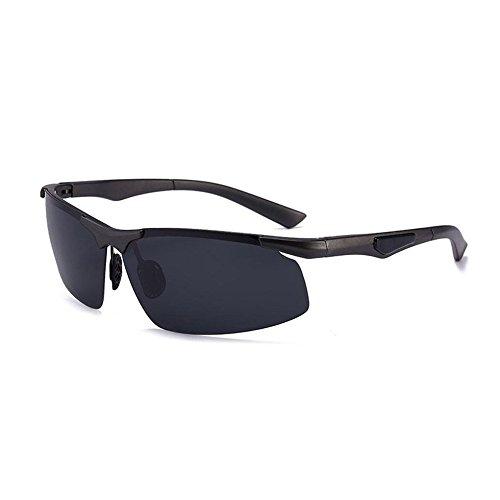 C Polarizadas Moda Conduciendo Metal de Marco YANKAN Sol de UV400 de Gafas de Hombres Hombres 1Txqx6pw