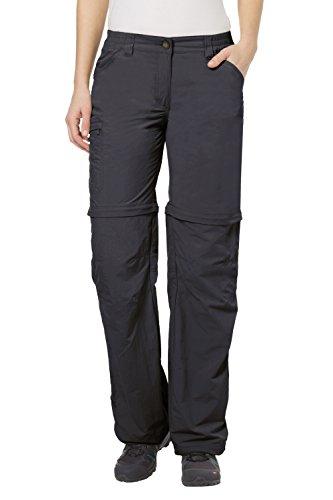 Vaude Farley IV ZO, short grey (Size: 48) zip pants