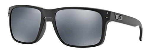 d1cc106c43e Oakley Holbrook Matte Black w  Black Iridium Polarized 9102-62 ...