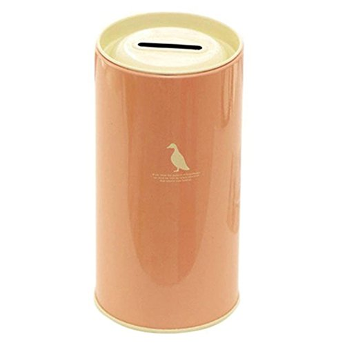 Floralby Money Saving Tin Bank Money Box Coins Box Piggy Bank for Adults Kids ()
