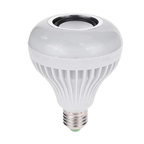 Led Bulbs Tubes E27 Wireless Bluetooth Speaker Bulb Music Playing