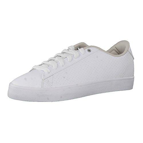 adidas Cf Daily Qt Cl W, Zapatillas de Deporte para Mujer Blanco (Ftwbla / Griper / Gridos)