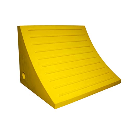 Esco 12593 Safety Yellow Pro Series Wheel Chock for Dump Trucks, Loaders, Construction Equipment and Tractors by Esco (Image #5)