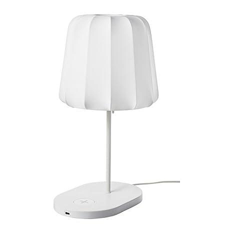 Lámpara de mesa IKEA VARV con carga inalámbrica: Amazon.es ...