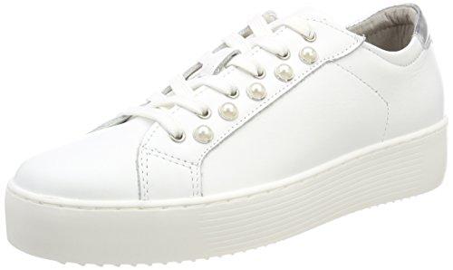 Blanco Mujer Tamaris Para Leather Zapatillas white 23770 xCxIqwR