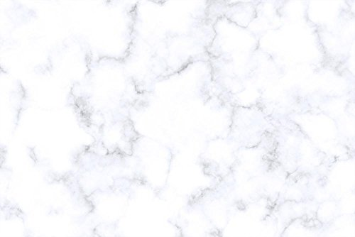 White Granite Tiles (LAMINATED 35x24 inches Poster: Marble Texture White Pattern Surface Effect Background Tile Black Granite Abstract Antique Architecture Stone Wall Backdrop Gray Wallpaper Kitchen Counter Surface)